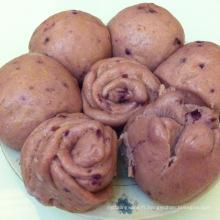 chaud vente de haute qualité délicieux congelé tordu à la vapeur roulé snack