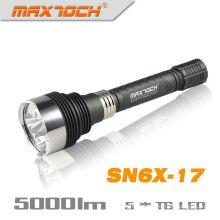 Maxtoch SN6X-17 5 * Cree T6 5000LM алюминия светодиодный фонарик