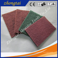 cleaning abrasive polishing fiber Green nylon scouring pad