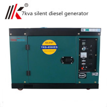 7kva stiller Dieselgenerator mit ATS-Preis, 7kw stiller Diesel für Verkauf, kleiner leiser Diesel