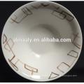 new design Ceramic deep salad bowl