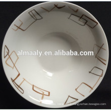 new design Ceramic deep salad bowl