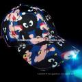 2016 Hot selling bonnet de baseball LED avec éclairage LED sur la visière