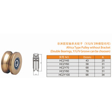 Africa Type Pulley Cheap and Popular Sliding Gate Roller