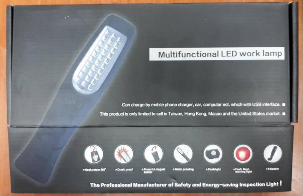 Led Rechargeable Working Light