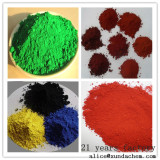 Iron oxide red yellow black green brown orange blue for coating