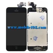 Affichage complet d'écran LCD pour iPhone5 noir