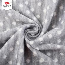 Elegant Cotton Jacquard Knit Fabric For Children Garment