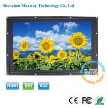 LED rétro-éclairé 24 pouces cadre ouvert LCD moniteur haute luminosité avec entrée HDMI DVI VGA