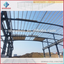 Bâtiment préfabriqué de construction rapide à faible coût utilisé pour les projets de structure en acier construction en acier