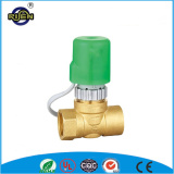 RS-9002 factory price magnetic brass 12v solenoid valve flow control