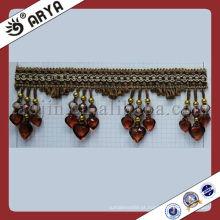 Beads Tassel Fringe Corte de cortina de alta qualidade