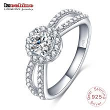 925 стерлингового серебра Индийский Пасьянс обручальное кольцо (SRI0005-Б)