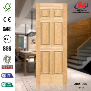 JAC Hospital Interior Birch Veneer Door Panel