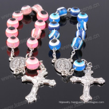Round Cat Eye Resin Beads Wholesale Rosary Bracelet