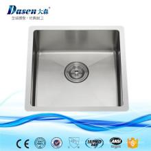 Nouveaux produits chauds pour les éviers de cuisine de mini navire en acier 2016 avec le tuyau flexible de drain