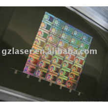 Hologramm Yag Blech Laserschneiden zum Prägen