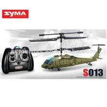 SYMA S013 helicóptero rc de 3 canales con giroscopio