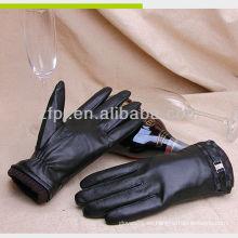 2013 nuevos mens guantes cuero