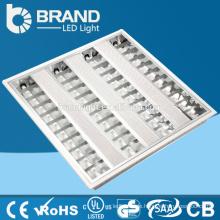 China-Fabrik Direktverkauf t8 vertiefte 600x600 führte Gitterlampe