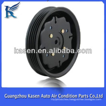 Air conditioning compressor magnetic clutch pulley For AUDI A4 7SEU16C