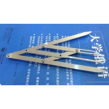 Sombra Golden Ratio Divider Microblading Sobrancelha Régua Sombra Calibre