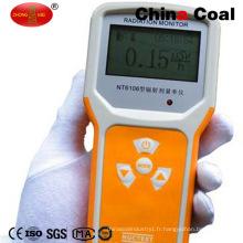 Radiomètre portatif de recherche photosynthétique de la Chine Nt6106 de charbon