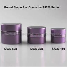 15g 30g 50g redondo de aluminio crema tarro