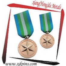 Изготовленный на заказ Проштемпелеванная Латунь медальон для случая