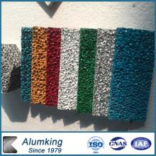 Silencer en mousse d'aluminium avec différentes couleurs