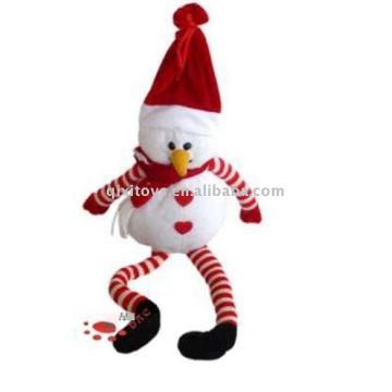 чучела и плюшевые Рождественский Снеговик мягкая игрушка