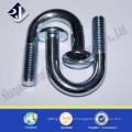 zinc plated grade 4.8 U bolt