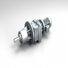 Helical Gear Motor Right Angle Gear Reducer