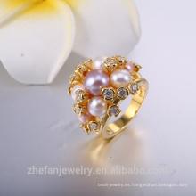 joyas de oro de allibaba com anillo de compromiso de oro 22k para regalo de navidad