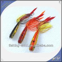RJL009 Оптовая торговля металлическими резиновый джиг приманки для рыбалки