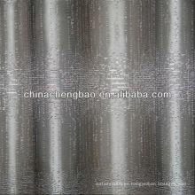Bordado cortina de lino para la decoración del hogar