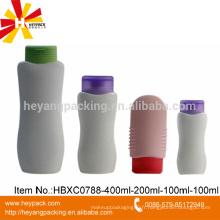 100ml 200ml 400ml HDPE Emballage de shampoing en plastique