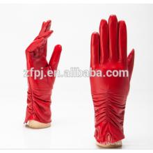 Damen-Mode Großhandel Frauen Leder-Handschuhe