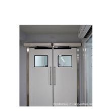 Opérateur automatique de porte battante de l'hôpital
