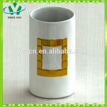 Mordern Home Decor Gild Zylinder Keramik Vase