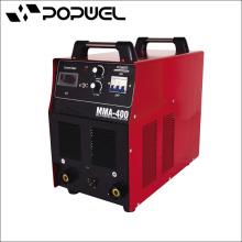 Alta qualidade CE aprovado Blindado máquina de solda de arco de metal MMA 400