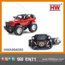 Jipe novo do carro do controle remoto do brinquedo do 1:14 do projeto com bateria e carregador (bateria do corpo do jipe incluída)