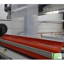 Produtos de vendas de China em 2017 Stretch film thickness plastic roll transparent