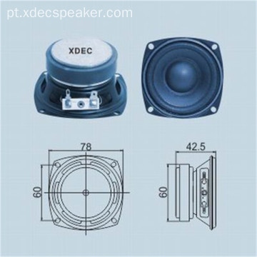 3 polegada 78mm 8 ohm 15w midbass orador