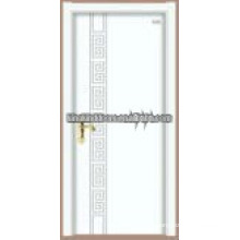 Latest design chinese fir steel wood door JKD-S19