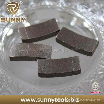 Segment de perçage en diamant pour forage de béton