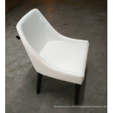 Hotel Furniture Restaurant Bankett Weißer Lederstuhl nach Europa