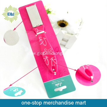 Tied-on-Card High Quality Foot Scrubber