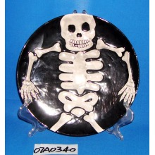 Round Cookie Ceramiche / Candy / Pie Plate per la decorazione di Halloween