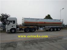 Alüminyum alaşım 40 CBM benzin tankeri yarı römork